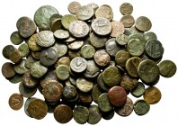 Lot of ca. 140 greek bronze coins / SOLD AS SEEN, NO RETURN!fine