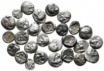 Lot of ca. 28 greek silver fractions / SOLD AS SEEN, NO RETURN!nearly very fine