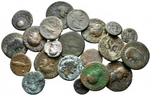 Lot of ca. 21 roman bronze coins / SOLD AS SEEN, NO RETURN!very fine