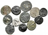 Lot of ca. 12 ancient coins / SOLD AS SEEN, NO RETURN!very fine