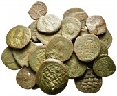Lot of ca. 24 byzantine bronze coins / SOLD AS SEEN, NO RETURN!nearly very fine