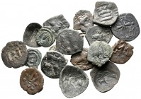 Lot of ca. 18 byzantine bronze coins / SOLD AS SEEN, NO RETURN!very fine