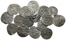 Lot of ca. 16 medieval coins / SOLD AS SEEN, NO RETURN!very fine