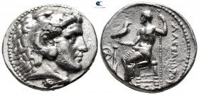 "Kings of Macedon. Salamis. Alexander III ""the Great"" 336-323 BC. Struck circa 315-300 BC. Tetradrachm AR"