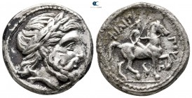 Kings of Macedon. Amphipolis. Philip II of Macedon 359-336 BC. struck posthumously under Kassander ca. 316-311 BC. Tetradrachm AR