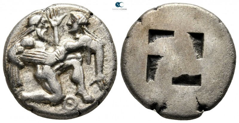 Islands off Thrace. Thasos circa 480-463 BC. 