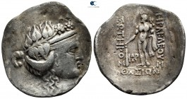 Islands off Thrace. Thasos 148-80 BC. Tetradrachm AR