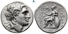 Kings of Thrace. Amphipolis. Macedonian. Lysimachos 305-281 BC. Struck 288/7-282/1 BC. Tetradrachm AR