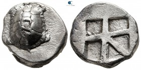 Islands off Attica. Aegina 456-430 BC. Stater AR