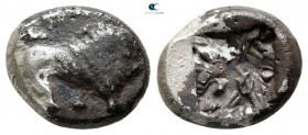 Asia Minor. Uncertain mint circa 520-450 BC. 1/3 Stater AR
