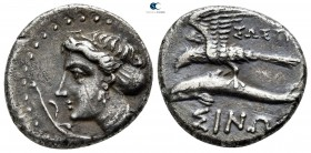 Paphlagonia. Sinope 330-300 BC. ΣΩΣΤΡΑ- (Sostra-), magistrate. Drachm AR