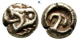 Ionia. Uncertain mint circa 600-550 BC. Hemihekte-1/12 Stater EL. Lydo-Milesian standard