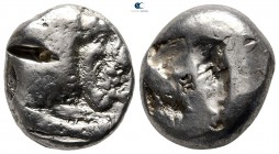 Caria. Uncertain mint circa 500-480 BC. Stater AR