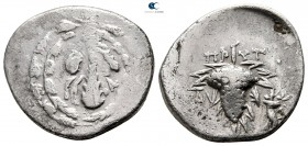 Lydia. Tralleis. ΠΡΥΤANΙΣ (Prytanis), magistrate circa 123-67 BC. Cistophoric Didrachm AR