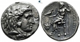 "Kings of Macedon. Memphis. Alexander III ""the Great"" 336-323 BC. Struck in Memphis, circa 325BC. Tetradrachm AR"