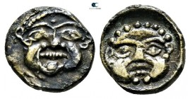 Asia Minor. Uncertain mint circa 500-400 BC. Obol AR