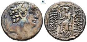 Seleukid Kingdom. Antioch on the Orontes. Philip I Philadelphos circa 95-75 BC. Struck circa 88/7-76/5 BC. Tetradrachm AR