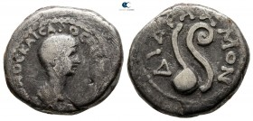 Seleucis and Pieria. Antioch. Nero as Caesar AD 50-54. Struck under Claudius, AD 50-54. Didrachm AR