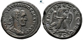 Seleucis and Pieria. Antioch. 5th officina. Trajan Decius AD 249-251. Billon-Tetradrachm