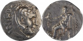 LESBOS. Mytilene. AR Tetradrachm, ca. 215-200 B.C. NGC Ch VF.