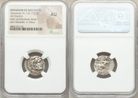 MACEDONIAN KINGDOM. Alexander III the Great (336-323 BC). AR drachm (18mm, 1h). NGC AU. Posthumous issue of Abydus, ca. 310-301 BC. Head of Heracles r...