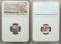 MACEDONIAN KINGDOM. Alexander III the Great (336-323 BC). AR drachm (16mm, 12h). NGC Choice XF. Late lifetime-early posthumous issue of Sardes, ca. 32...