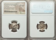 MACEDONIAN KINGDOM. Alexander III the Great (336-323 BC). AR drachm (17mm, 1h). NGC Choice XF. Posthumous issue of Magnesia ad Maeandrum, under Antigo...