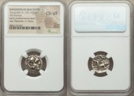 MACEDONIAN KINGDOM. Alexander III the Great (336-323 BC). AR drachm (17mm, 3h). NGC Choice VF. Posthumous issue of Abydus, ca. 310-301 BC. Head of Her...