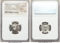 CARIAN ISLANDS. Rhodes. Ca. 340-305 BC. AR didrachm (20mm, 12h). NGC Choice Fine. Ca. 340-320 BC. Head of Helios facing, turned slightly right, hair p...